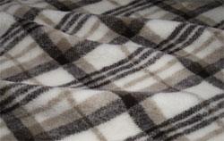 Плед овечий односпальный Оксфорд 140х200