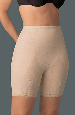 Корсетные корректирующие штанишки со штрипками для чулок XXL