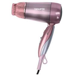 Электрофен Marta MT-1411 CHIC (2 режима мощности, функция ионизации, складная ручка)