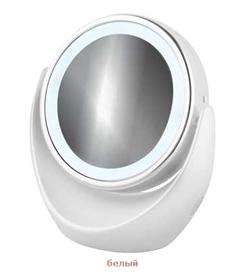 Женское зеркало для макияжа 2649 белое