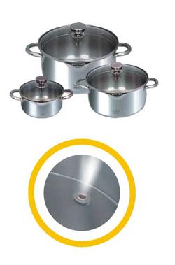 Бытовой комплект посуды Marta 2948 (шесть предметов)