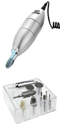 Машинка для маникюра и педикюра 10 насадок MEDISTYLE L
