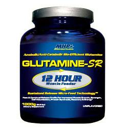 GlutamineSR с транспортной системой Maximum Human Performance 1000 гр