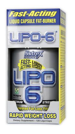 Lipo6 Нутрекс 240 капсул