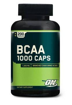 БЦАА 1000 Optimum Nutrition 200 капсул