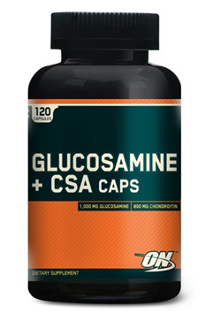 Средство для суставов с хондроитином и глюкозамином 120 капсул