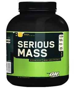 Гейнер для набора веса SeriousMass 2724 гр