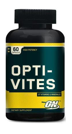 Спортивные витамины Опти ВайтсОптимум Нутришн 60 капсул