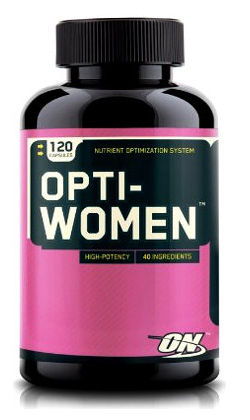Женские витамины OptiWomenON 60 капсул