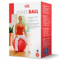 Фитбол для гимнастики 55 см Sissel