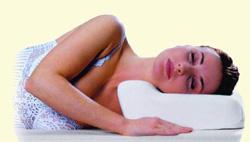 Ортопедическая подушка Сиссель среднего размера под голову высота подушки
