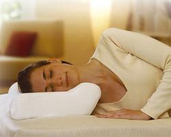 Подушка анатомическая с адаптацией под особенности взрослого человека Сисель Швеция температурный контроль валик 11 см
