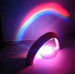 Светильник с проекцией радуги