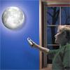 Настенный проектор ночник Луна 3D