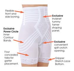 Корректирующие панталоны с завышенной талией больших размеров R6209x