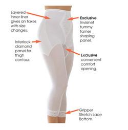 Корректирующие штаны-капри R6265xx