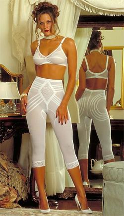 Утягивающие штаны-капри R6269