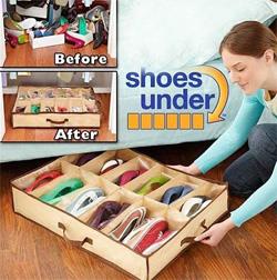 Органайзер Шуз Андер для 12 пар обуви