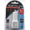 Автомобильный блок питания ROBITON TwinUSB2100/AUTO 2100мА с 2 USB выходами