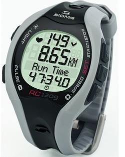 Наручные часы для измерения пульса RC1209 Grey