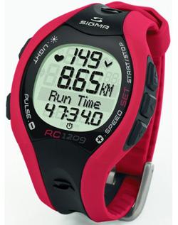 Спортивный измеритель частоты сердечных сокращений Сигма Спорт RC1209 Red