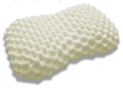 Подушка из натурального латекса с массажным эффектом (дуриан)
