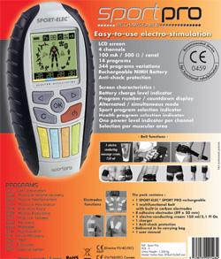 Электронный стимулятор мускул Спорт-Элек SP-2