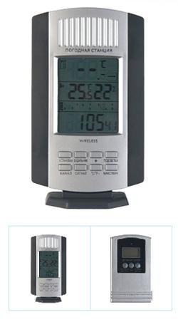 Часы-термометр с беспроводным датчиком