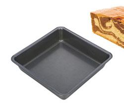 Противень с бортиками для выпечки 22x22 см квадратный Delicia