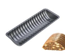 Формочка для выпечки домашнего хлеба рельефная 30x11см Delicia