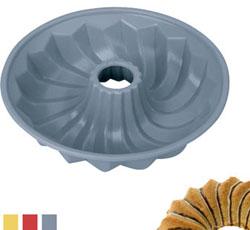 Силиконовая формочка для кекса низкая 24 см