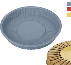 Формочка из силиконового материала для пирога солнце 22 см
