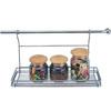 Полка кухонная рейлинговая 45х15 см