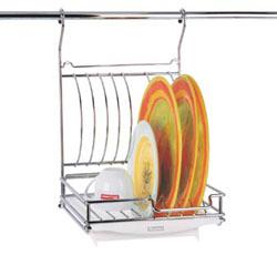 Сушилка с подносом 35 см подвесная