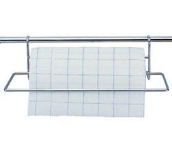 Держатель для бумажных полотенец на рейлинг 33 см