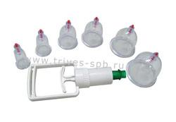 Баночки для похудения с насосом (6 шт)