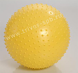 Массажный шар Massage Ball Professional с игольчатой поверхностью 55 сантиметровый