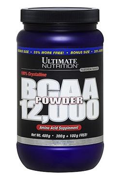 Аминокислоты БЦАА 12000 Ultimate порошок 400 гр