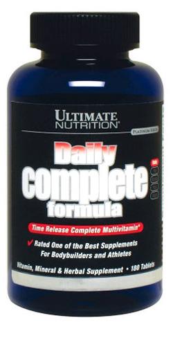 Витамины Daily Complete Formula 180 табл