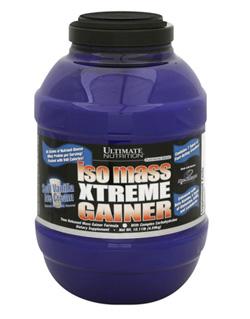 Гейнер для набора массы Isomass Ultimate Nutrition Ultimate Nutrition 4,6 кг