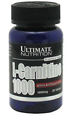 LCarnitine 1000 мг в таблетках Альтимейт Нутришн 30