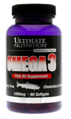 Рыбий жир Omega-3 Ультимейт Нутришн 90 капсул