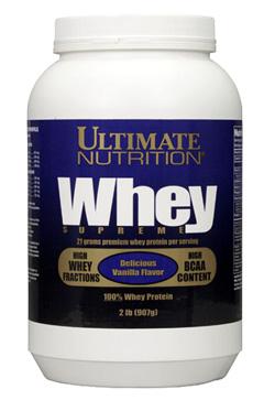 Протеин сывороточный Ultimate Nutrition Whey Supreme 907 гр