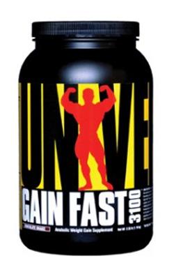 Напиток для набора веса Gain Fast Universal Nutrition 2316 гр.